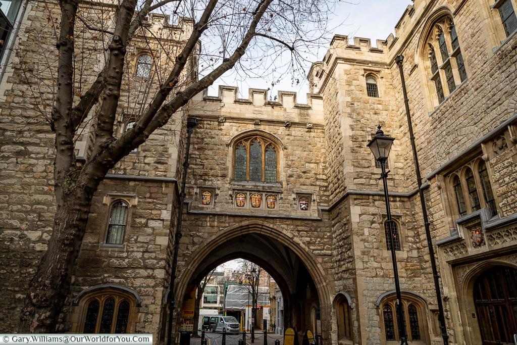 St John's Gate, Clerkenwell, London, England, UK