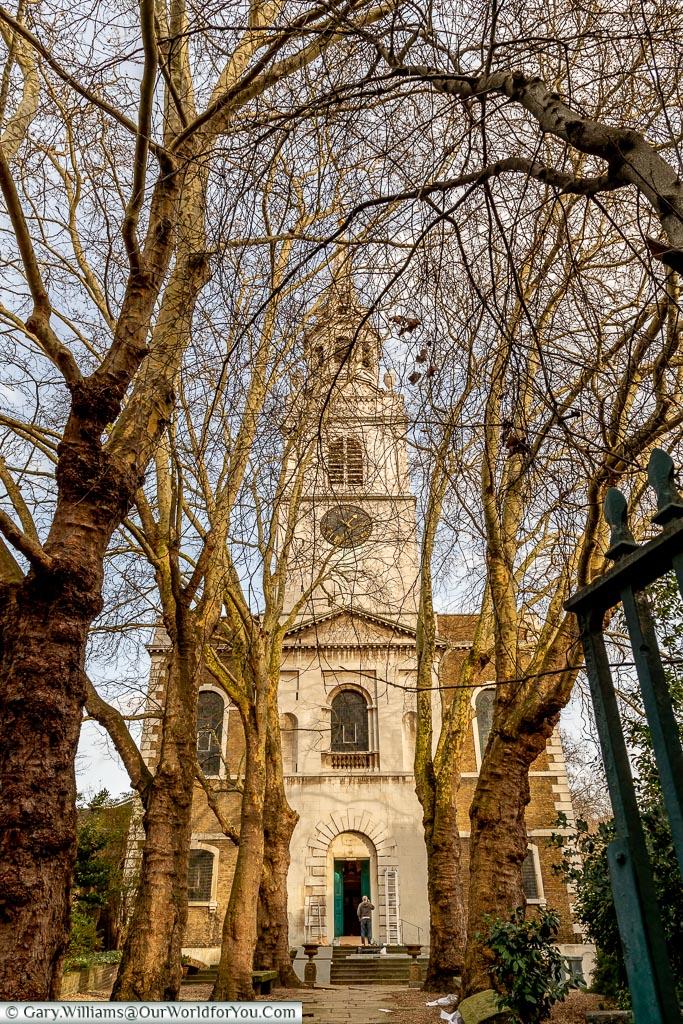 St. James's Church, Clerkenwell, London, England, UK