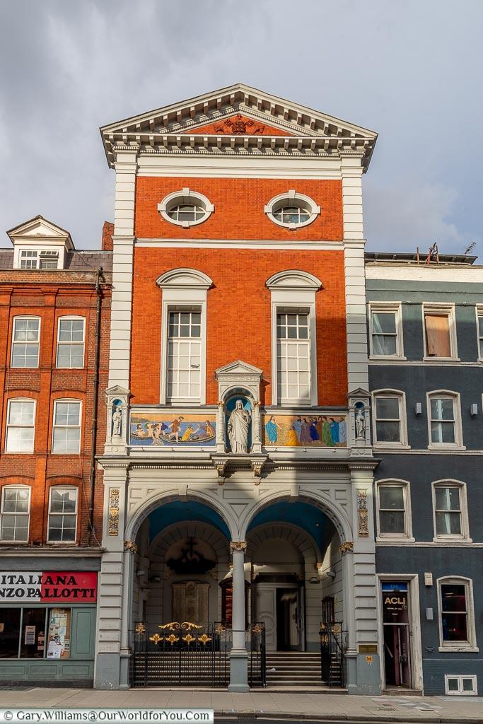 St. Peter's Italian Church, Clerkenwell, London, England, UK