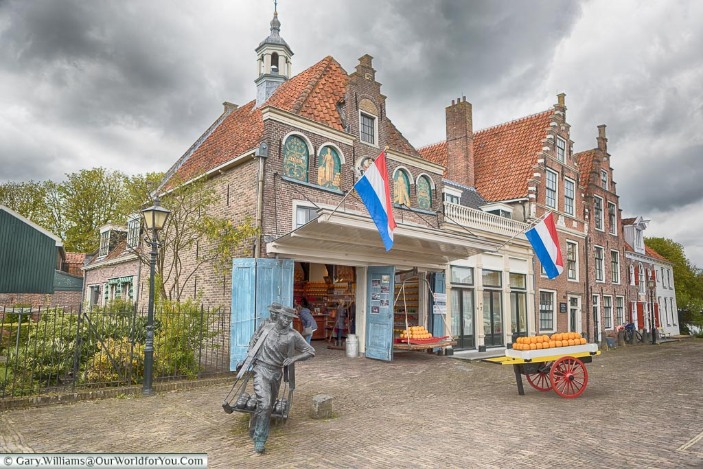 The Cheese Market in Edam, Holland, Netherlands