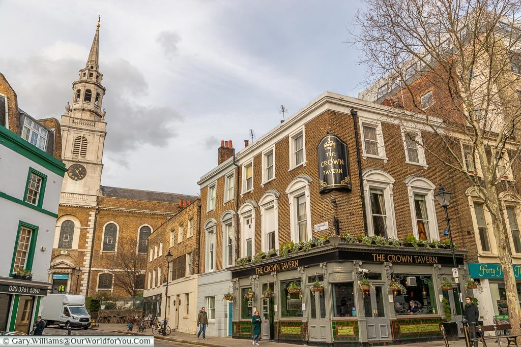 The Crown Tavern, Clerkenwell, London, England, UK