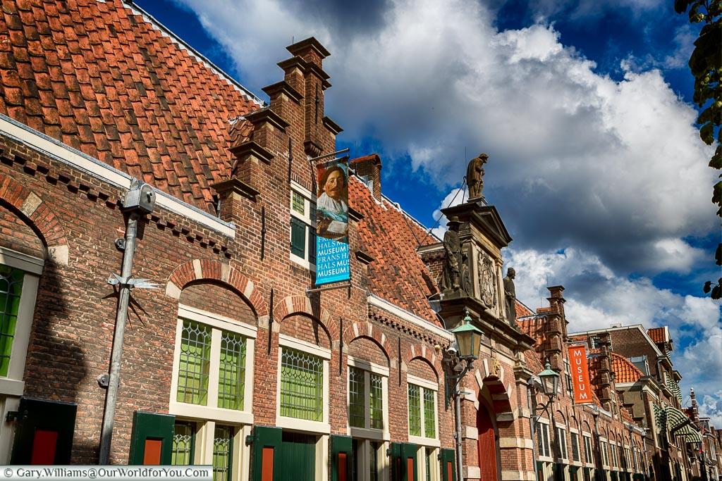 The Frans Hals Museum, Haarlem, Holland, Netherlands