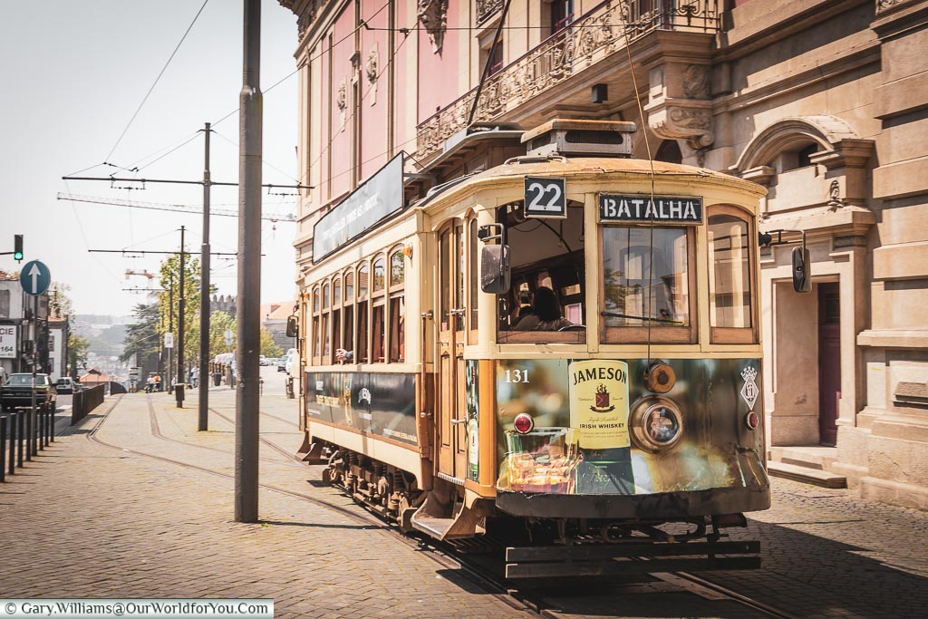 The Heritage tram, Porto, Portugal