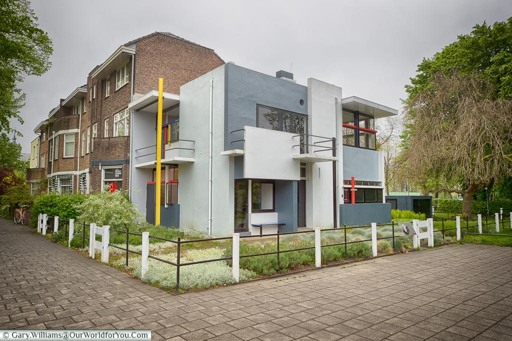 The Rietveld Schröder House, Utrecht, Holland, Netherlands