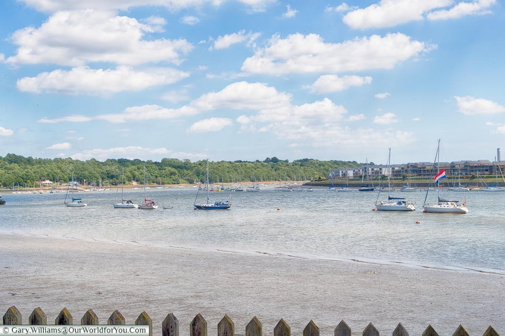 The River Medway, Upnor Castle, Upnor, Kent, England, UK