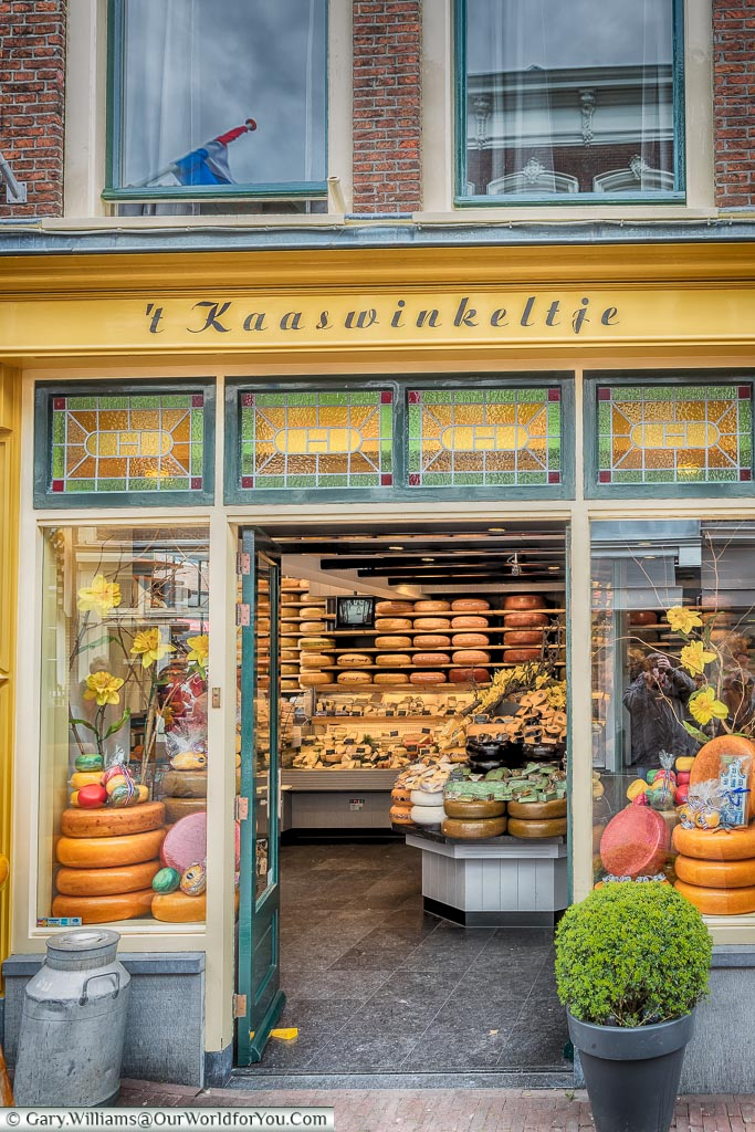 The cheese shop, Gouda, Holland, Nethelands