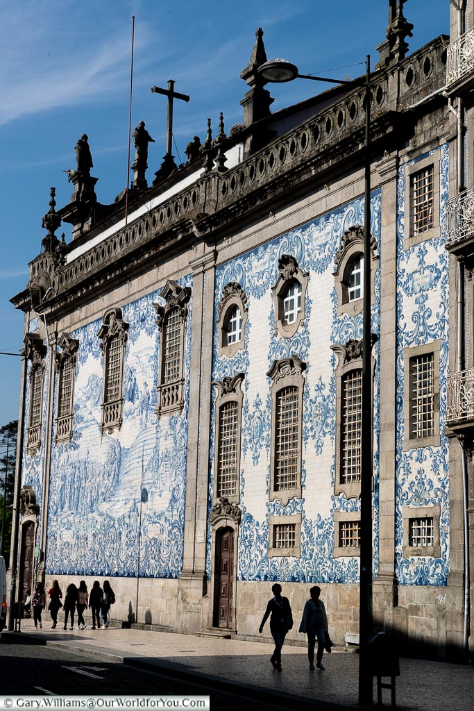 The iconic Blue & White tiles, Porto, Portugal