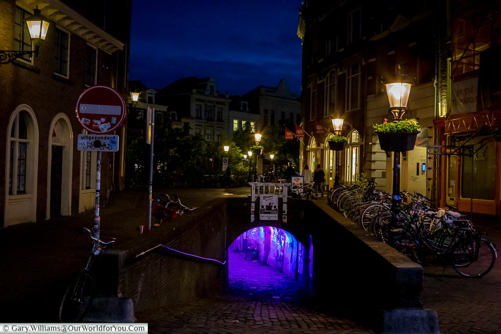 The light tunnel, Trajectum Lumen, Utrecht, Netherlands