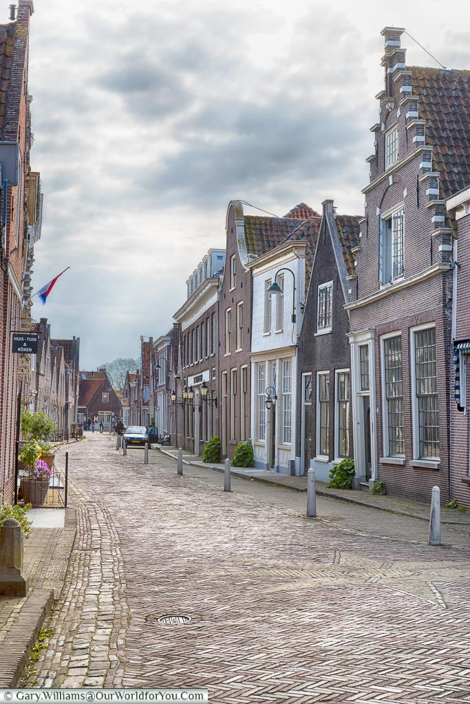 The quiet lanes of Monnickendam, Holland, Netherlands