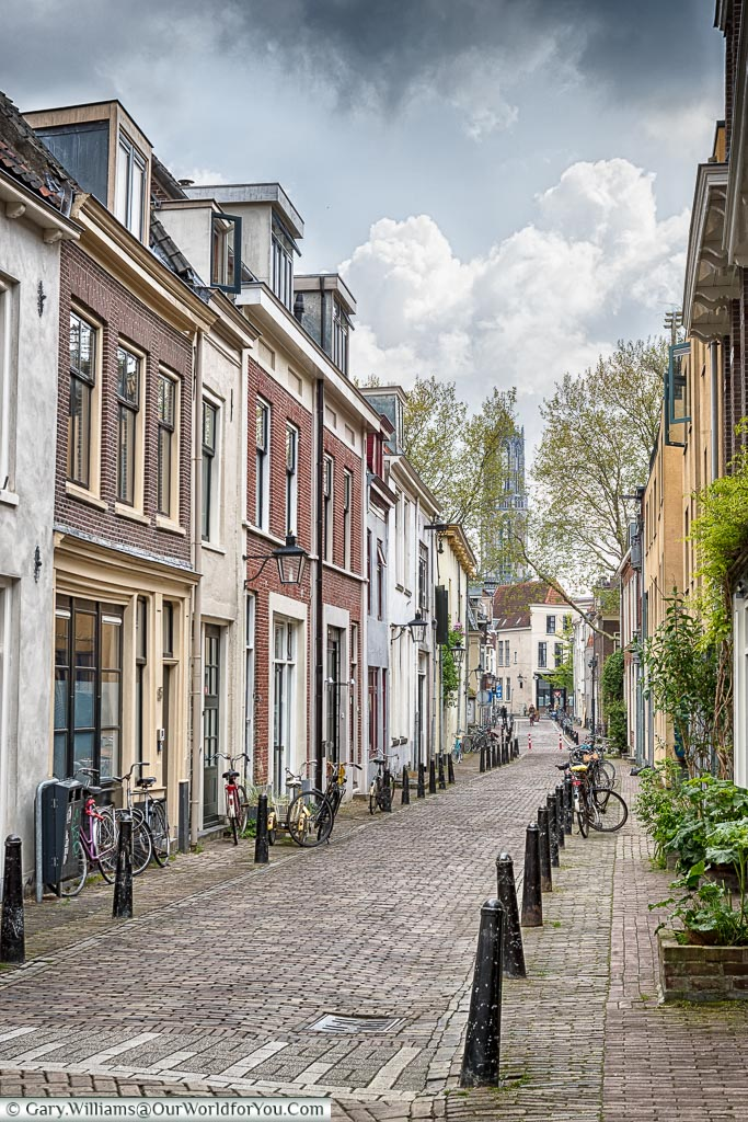 The quiet lanes of Utrecht, Holland, Netherlands