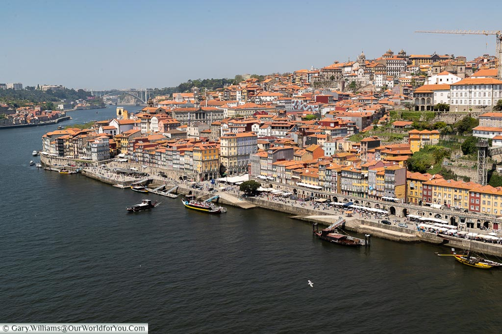 The view from the bridge, Porto, Portugal