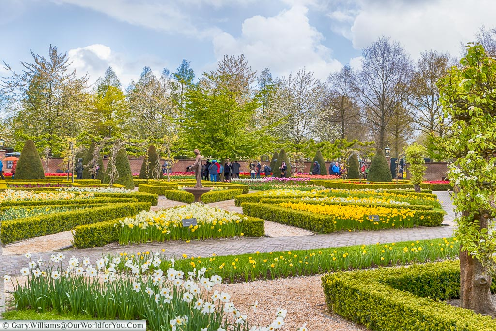 The Walled Garden, Keukenhof, Holland, Netherlands