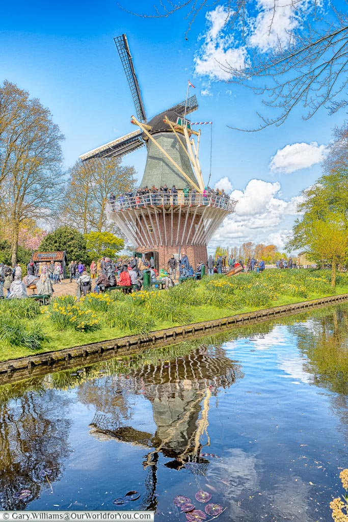 The Windmill, Keukenhof, Holland, Netherlands
