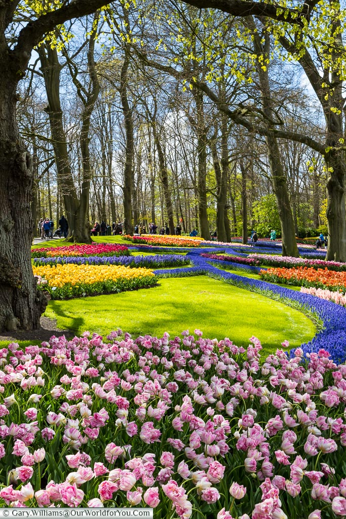 The wonderful designs throughout Keukenhof, Holland, Netherlands