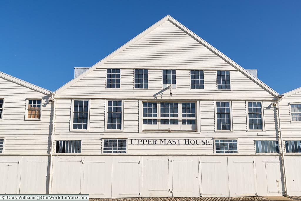 Upper Mast House, Historic Chatham Dockyard, Kent, England, UK