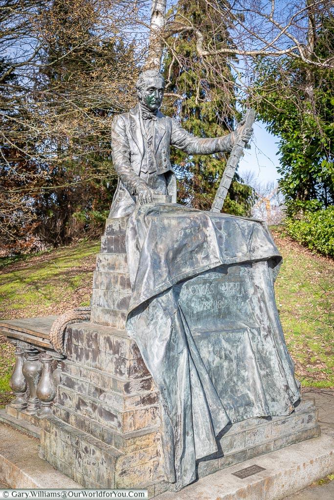 A monument to Thomas Cubitt, Dorking, Surrey, England, UK