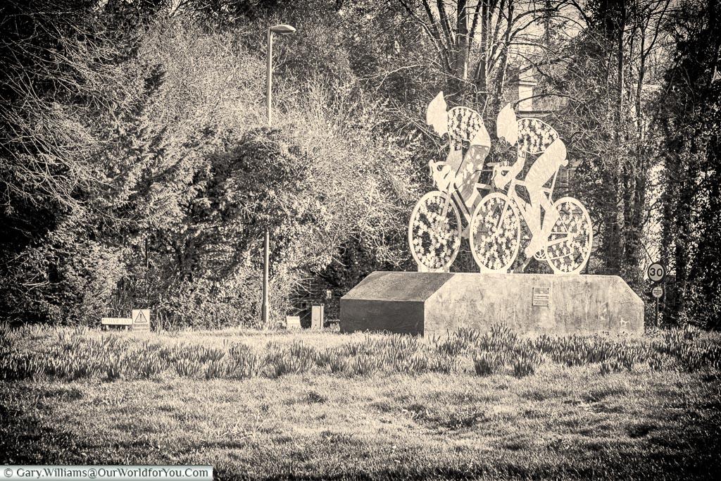 A short ride to Box Hill, Dorking, Surrey, England, UK