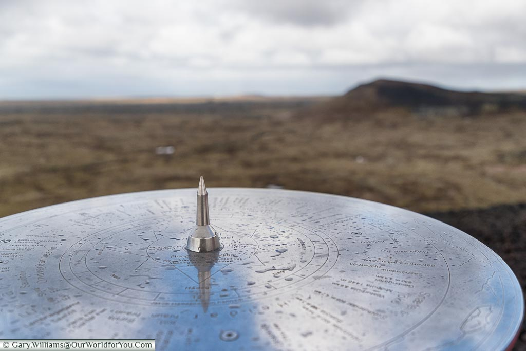All points from Saxhólar Crater, Iceland