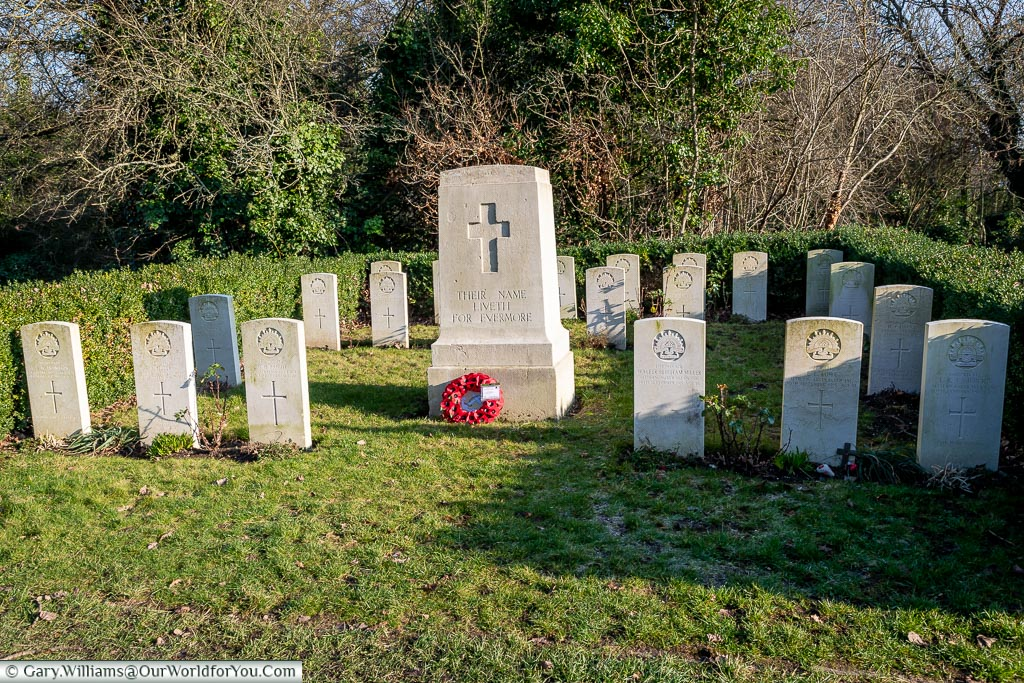 Australian war graves, Nunhead Cemetery, London, England, UK