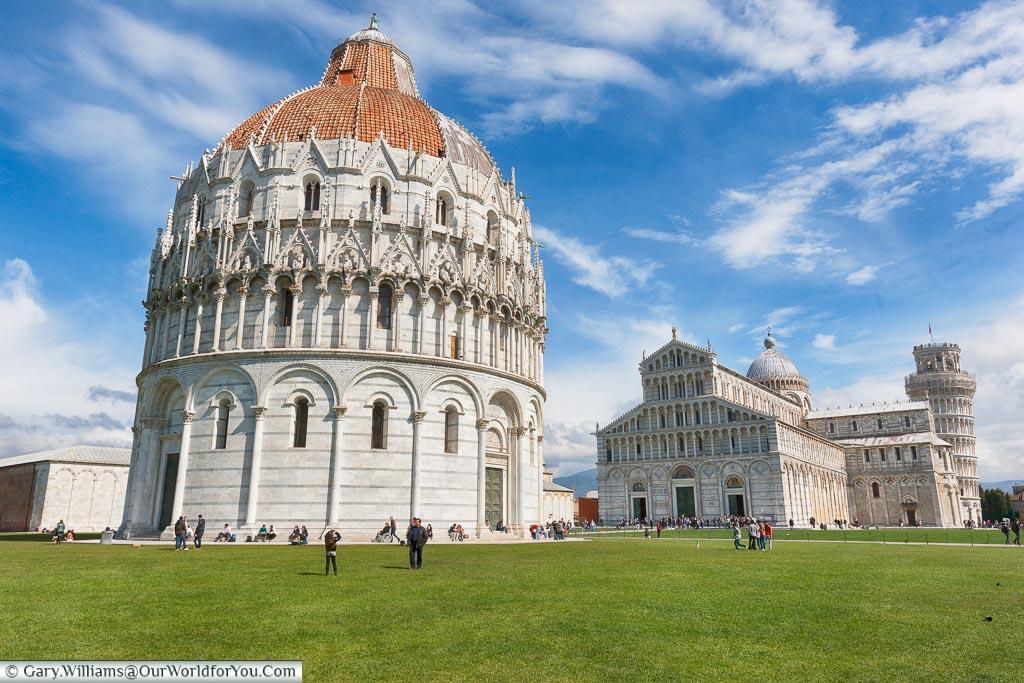 Battistero di San Giovanni, Pisa, Tuscany, Italy