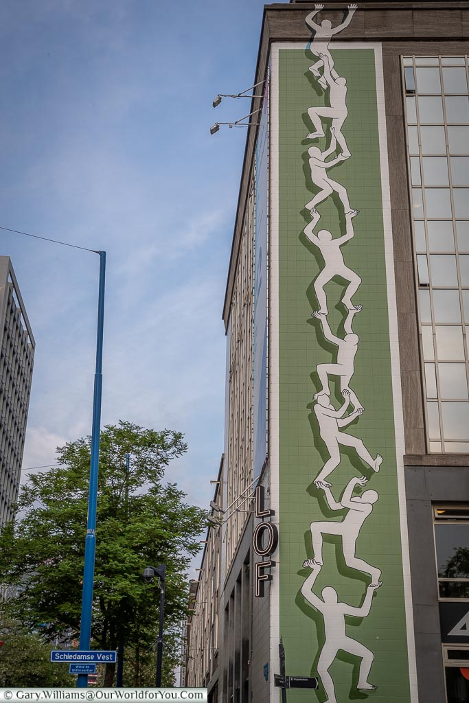 Climbing the Wall, Rotterdam, Netherlands