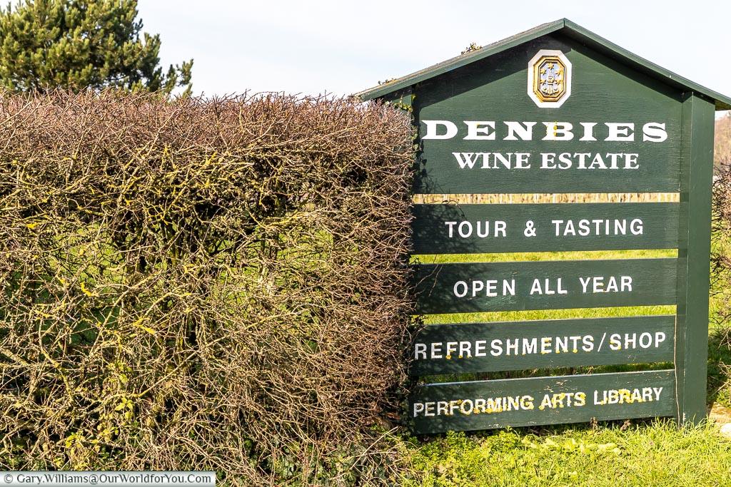 Denbies Wine Estate, Dorking, Surrey, England, UK