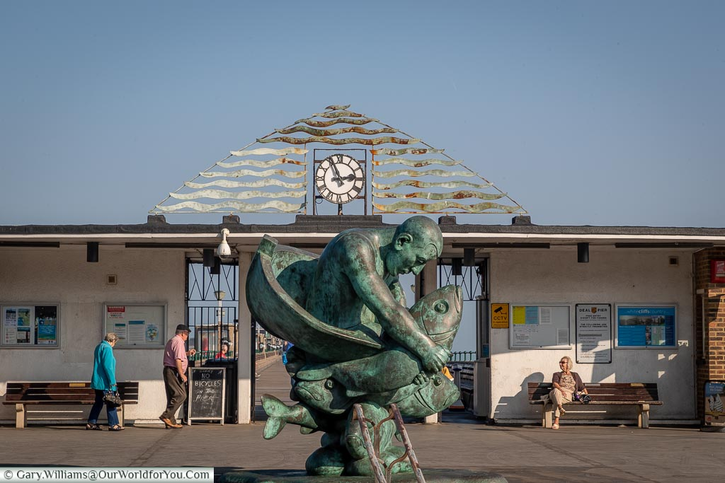 Entrance to the Pier, Deal, Kent, England, UK