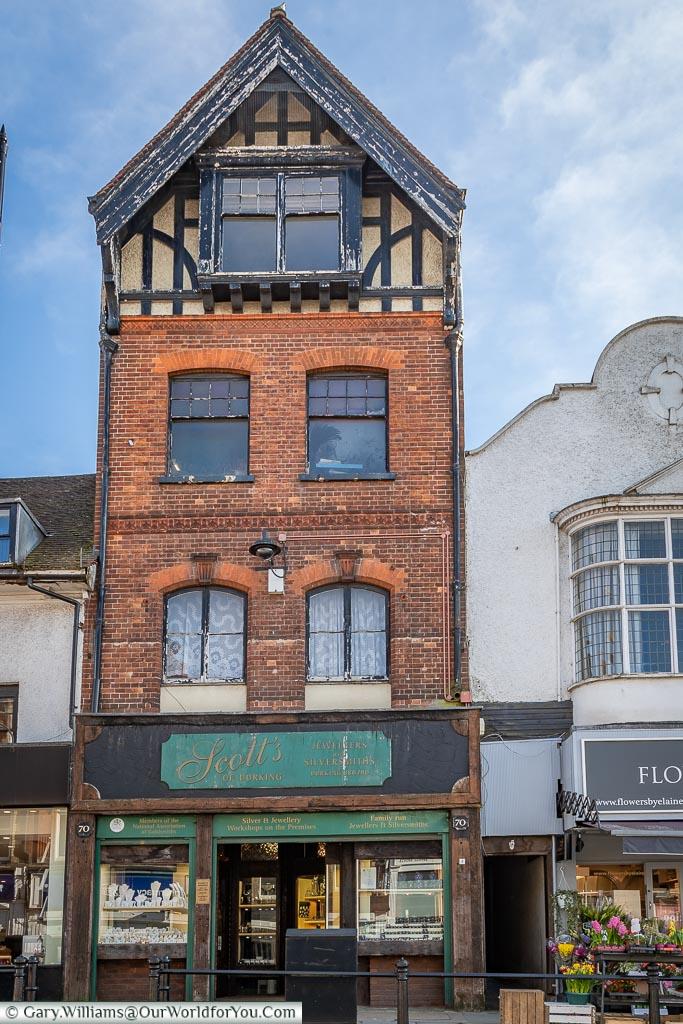 Interesting Architecture, Dorking, Surrey, England, UK