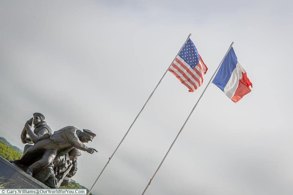 Memorial at Utah Beach, Normandy, France