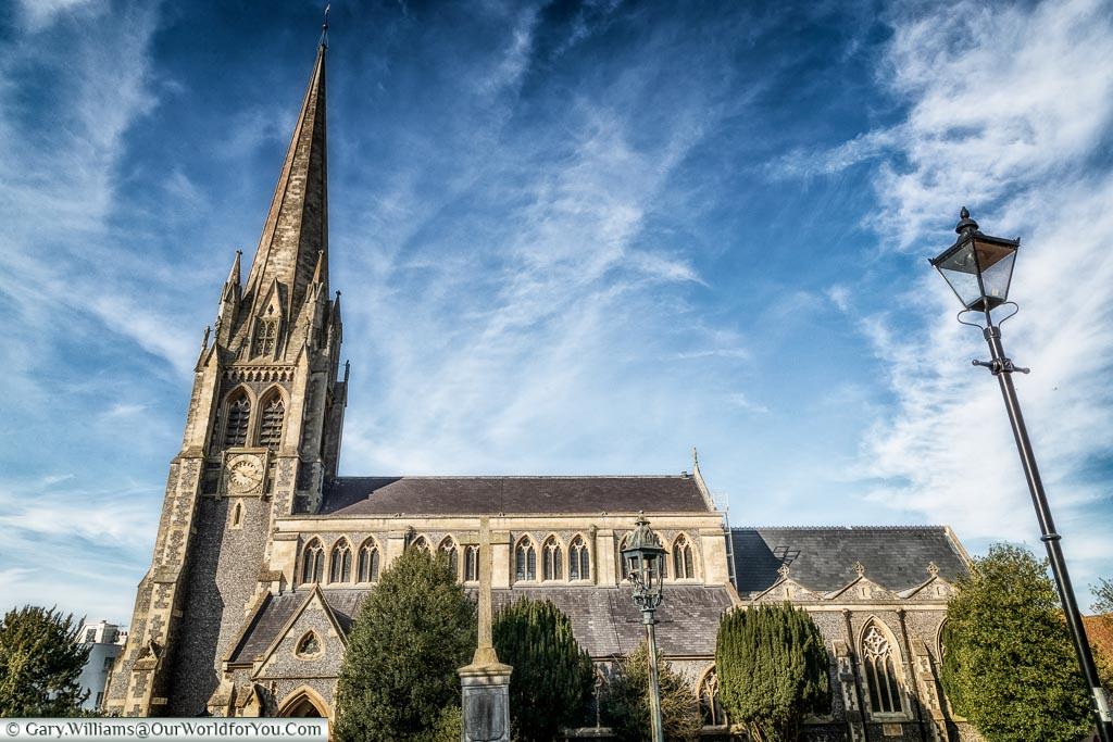 St Martin's Church, Dorking, Surrey, England, UK