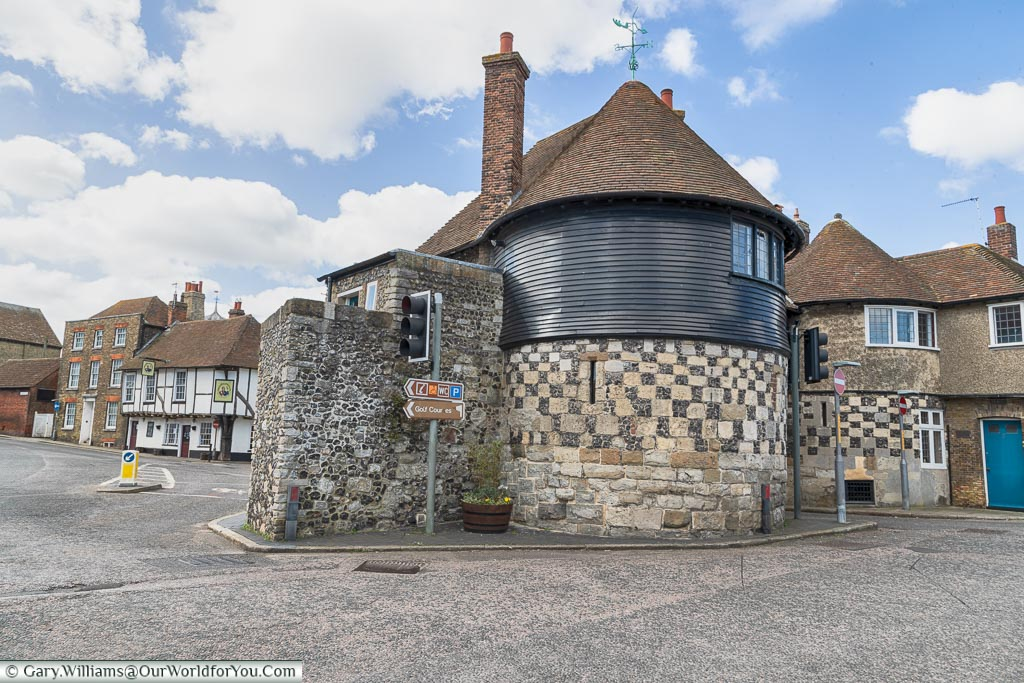The Barbican Gate, Sandwich, Kent, England, UK