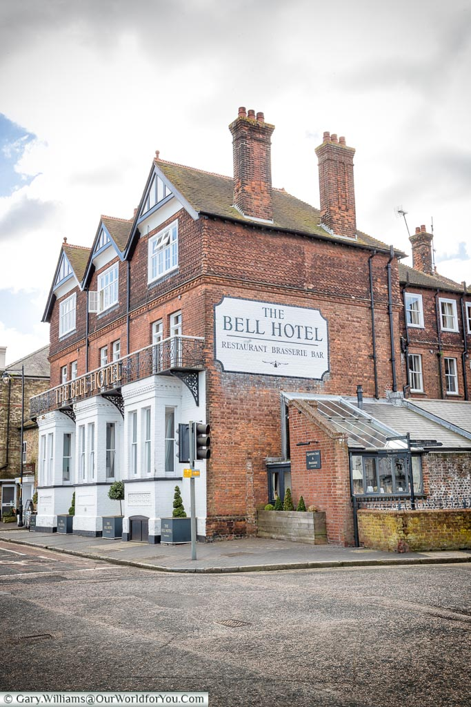 The Bell Hotel, Sandwich, Kent, England, UK
