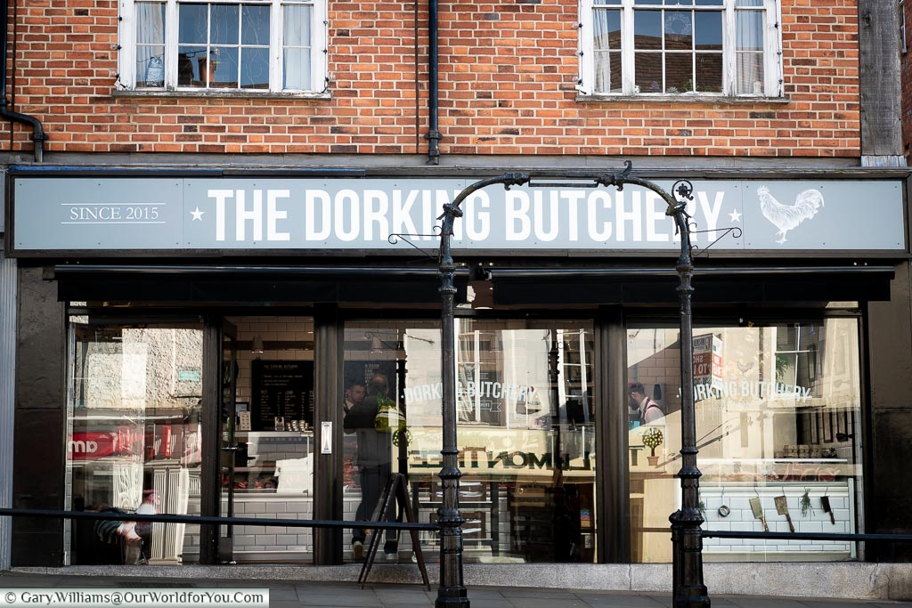 The Dorking Butchery, Dorking, Surrey, England, UK