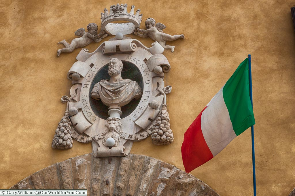 The Great Duke of Florence - Cosmo Medici,  Florence, Tuscany, Italy