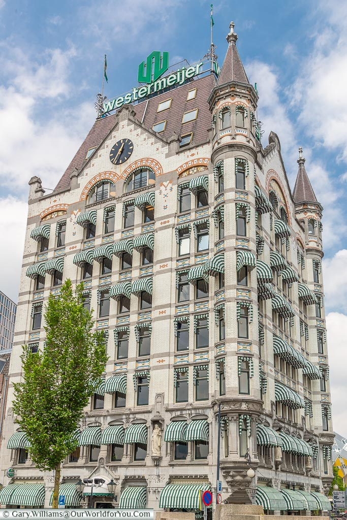 The Witte Huis - Up close, Rotterdam, Netherlands