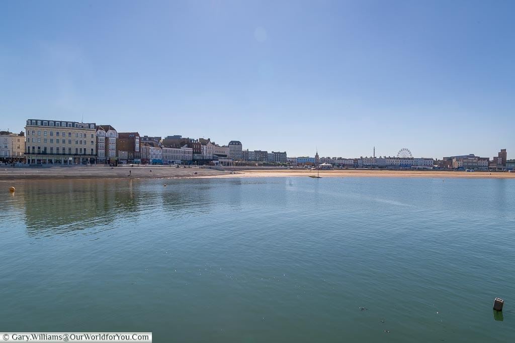 The view across the harbour, Margate, Kent, England, UK