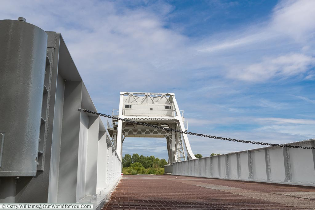 Up close - Pegasus Bridge, Normandy, France