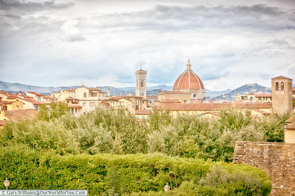 View of Florence, Florence, Tuscany, Italy