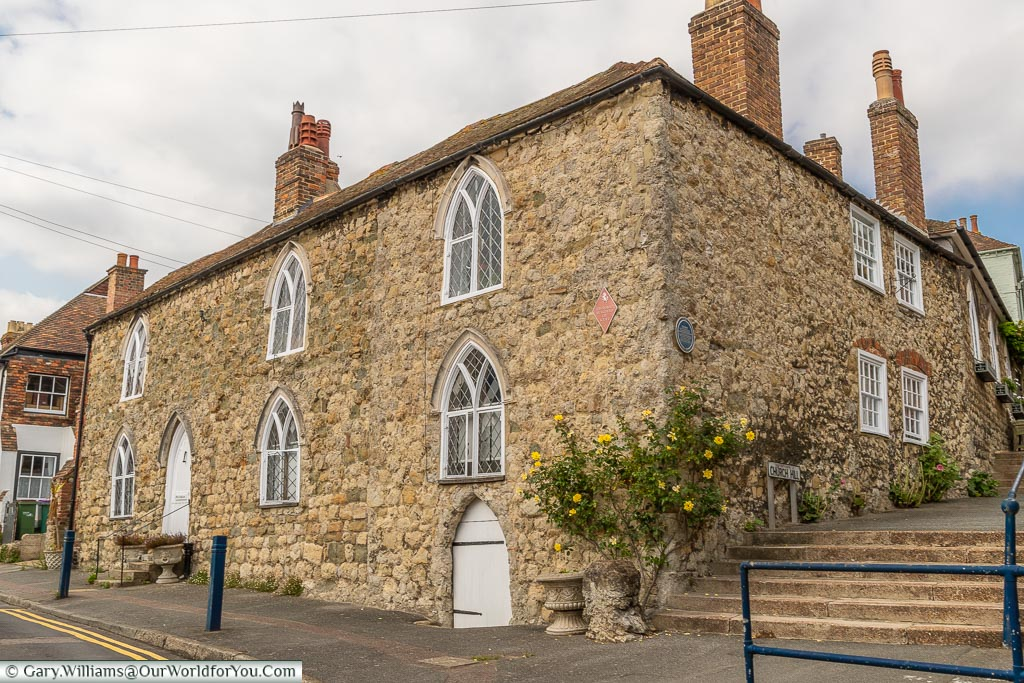 The 13th-Century 'Centuries House' in  Hythe, one of Kent's historic buildings