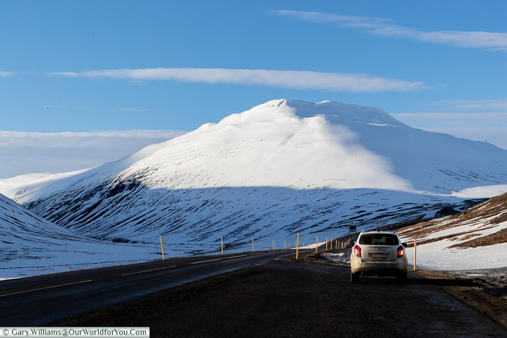 Parked up off Route One, Iceland