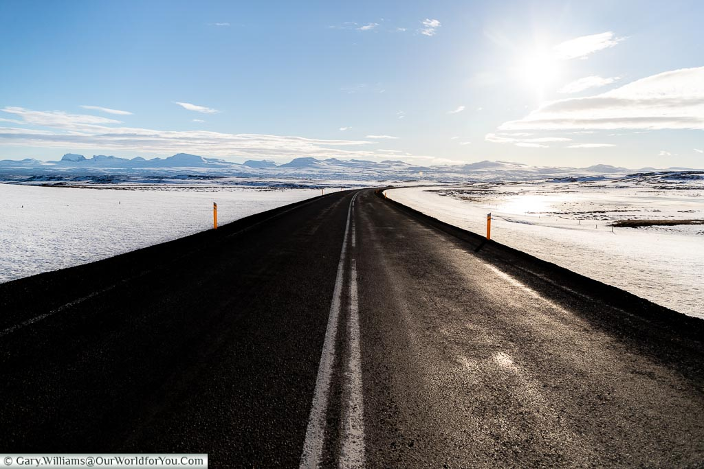 Some amazing days on the road, Driving in Iceland