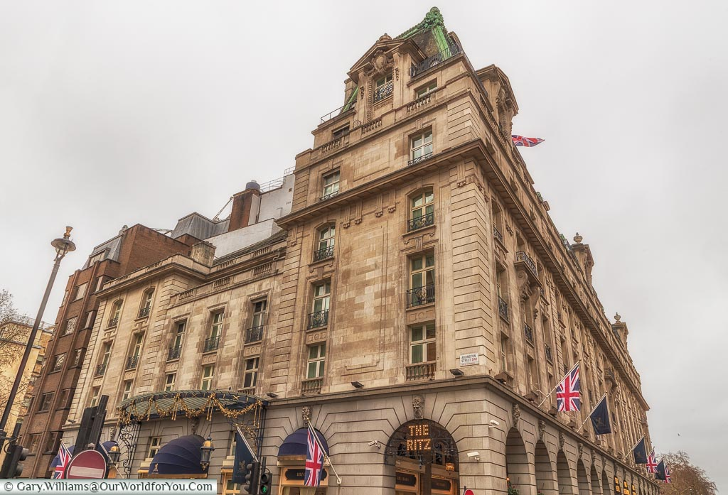 The Ritz Hotel, St James's, City of Westminster, London, England