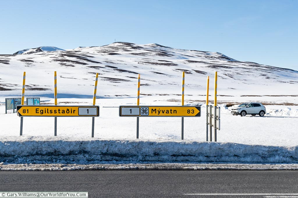 Which way?, Driving in Iceland