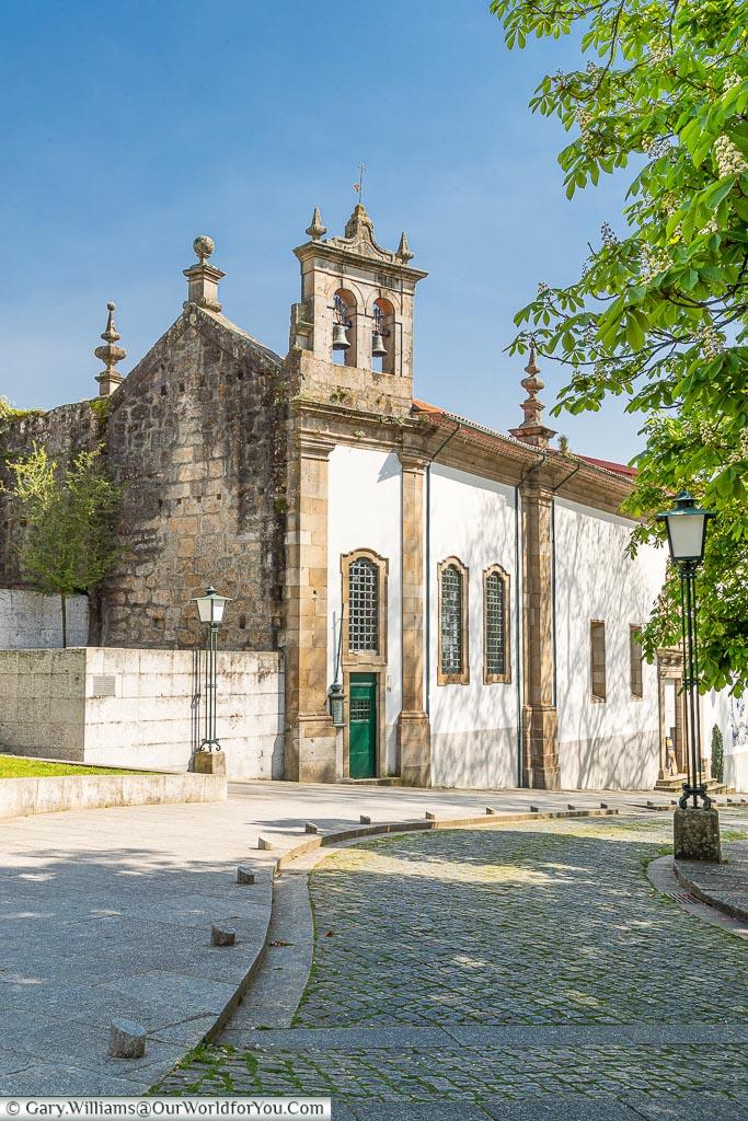 A convent in Guimarães, UNESCO, Portugal