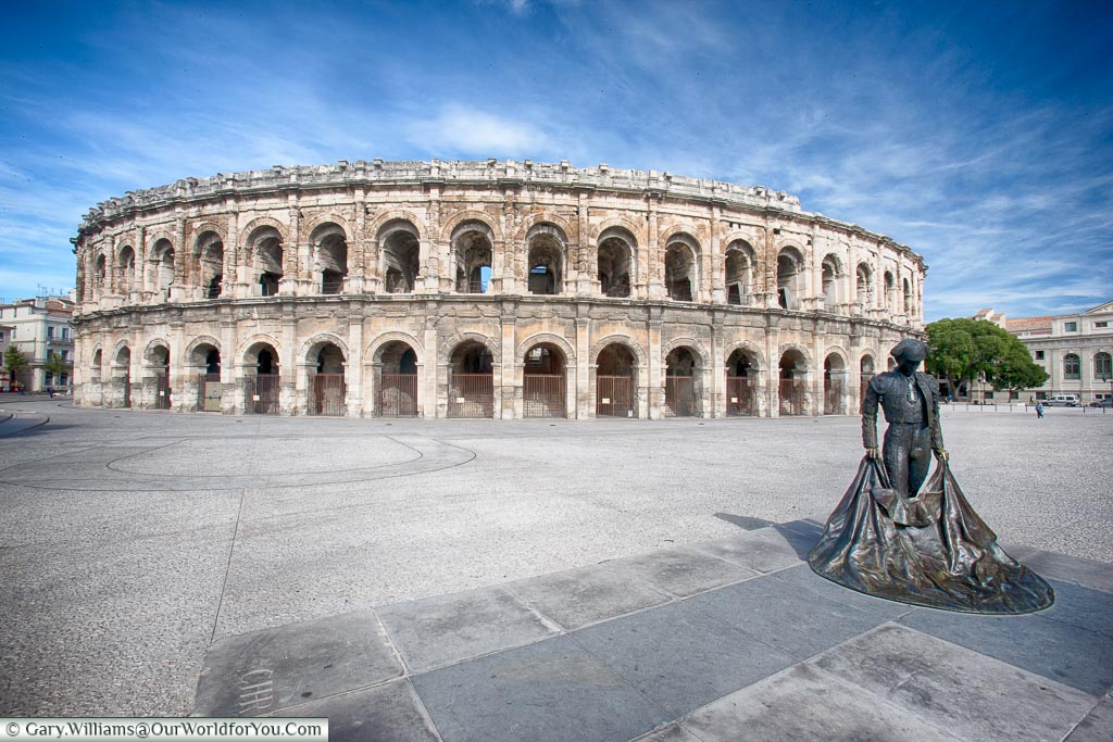 Arena of Nîmes, Nîmes, France