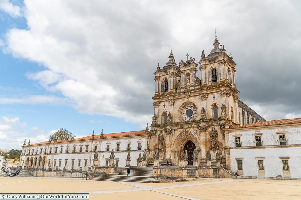 Outside the Monastery of Batalha, UNESCO, Portugal