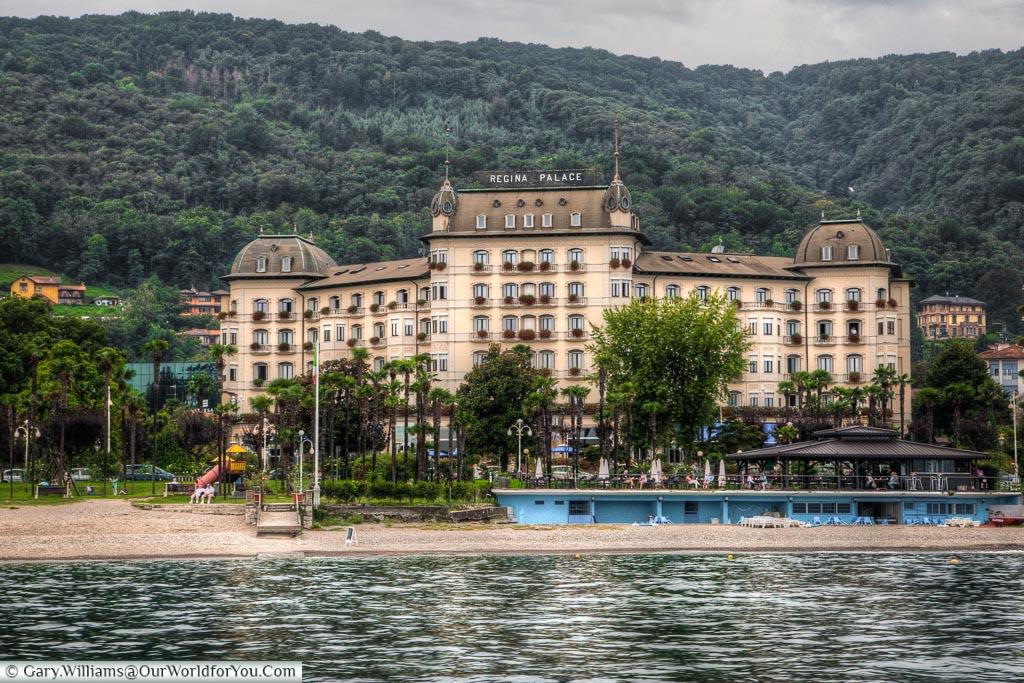 Regina Palace Hotel, Stresa, lake maggorie, lake, Italy