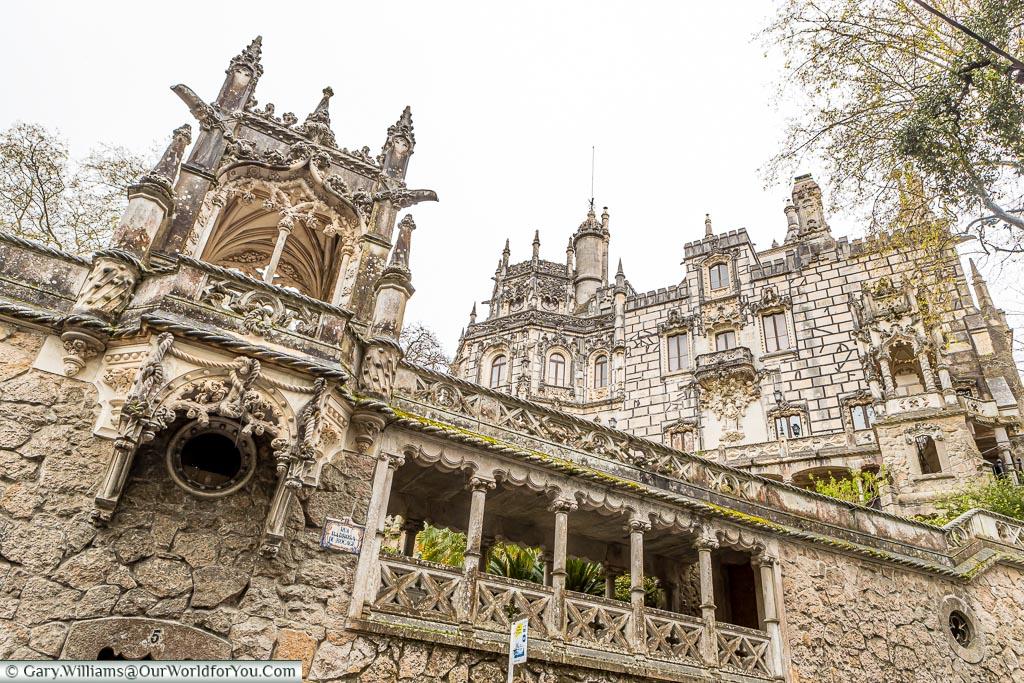 The Quinta da Regaleira, UNESCO, Sintra, Portugal