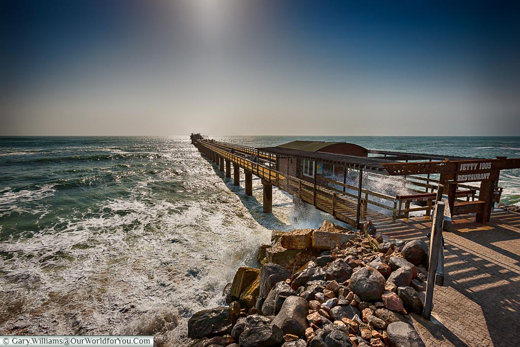 The old jetty, Swakopmund, Namibia