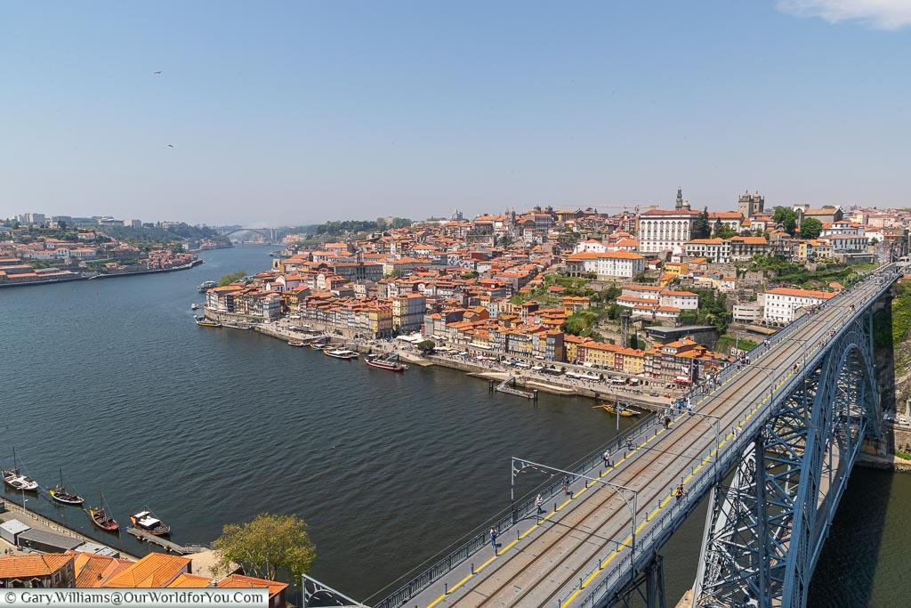 The view over Porto, UNESCO, Sintra, Portugal